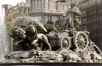 Fuente De Cibeles Hipómenes Madrid
